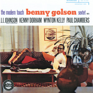 Album cover for The Modern Touch by Benny Golson Sextet