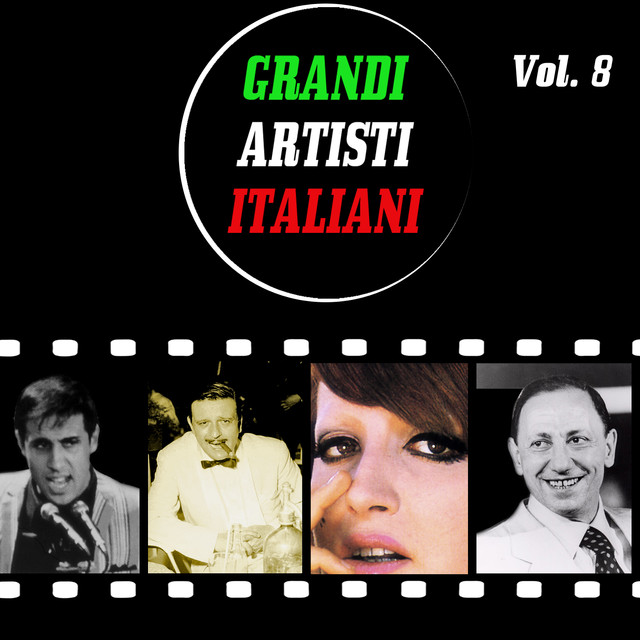 Various Artists Grandi artisti italiani, vol. 8 album cover