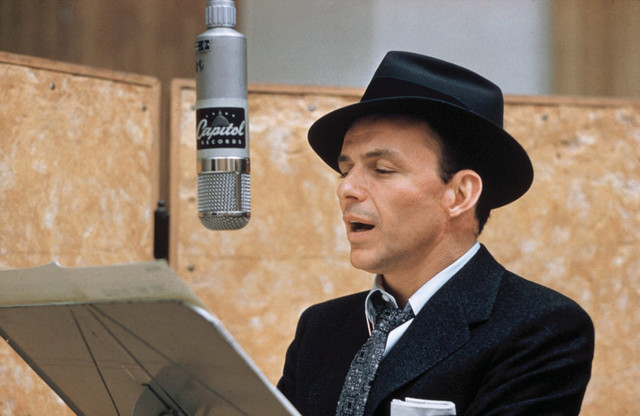 Frank Sinatra, Axel Stordahl Birth Of The Blues cover