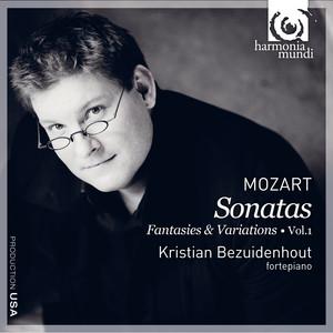 Mozart: Keyboard Music Vol. 1 Albumcover