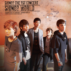 SHINee World (The 1st Asia Tour Album) Albumcover