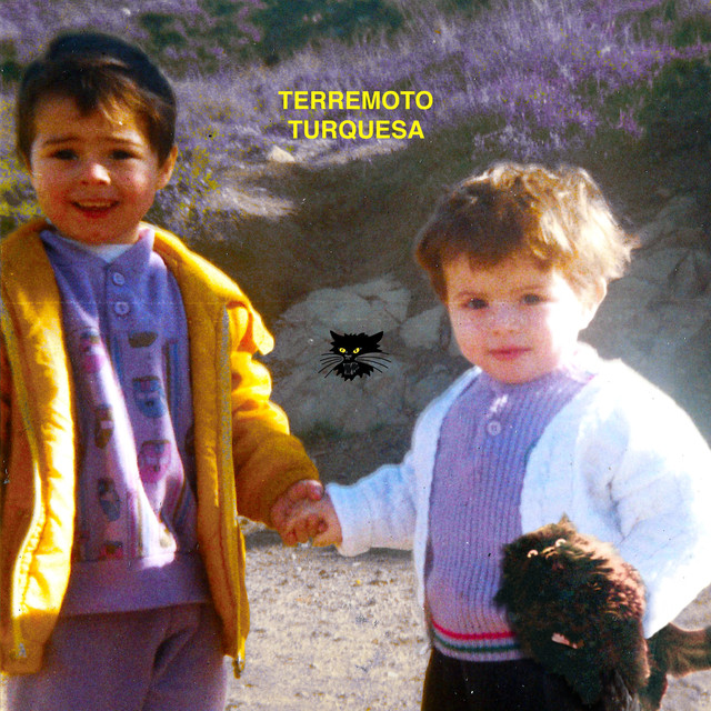 Album cover for Terremoto Turquesa by Kinder Malo, Pimp Flaco