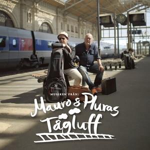 Mauro & Pluras tågluff Albumcover