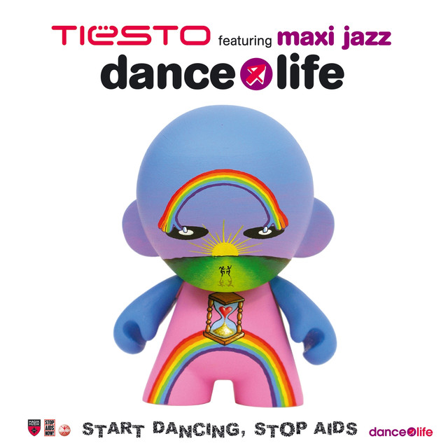Tiësto, Maxi Jazz Dance4life album cover