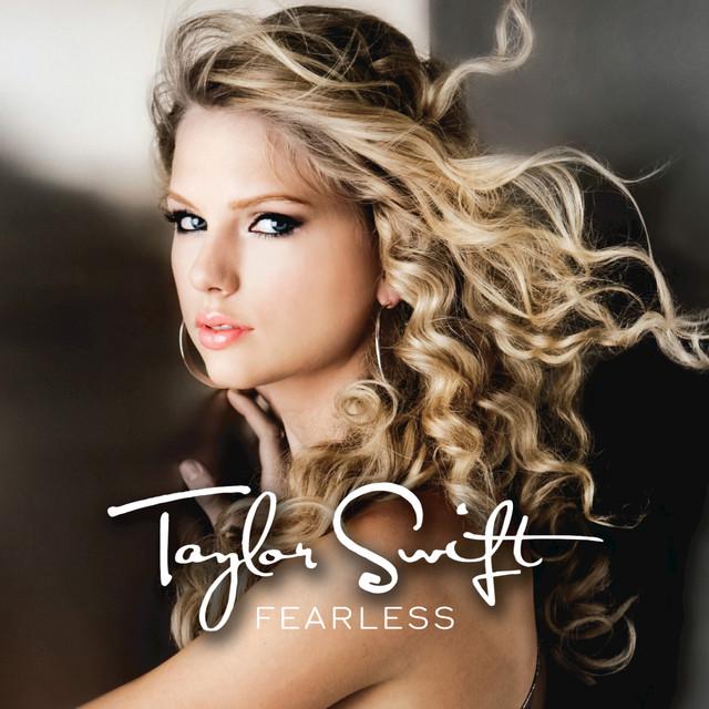 Skivomslag för Taylor Swift: Fearless
