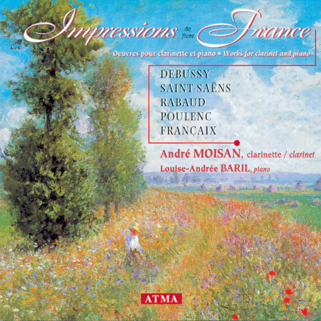 Impressions From France - Works for Clarinet and Piano Albumcover