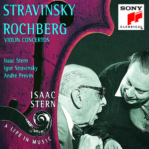 Isaac Stern, Columbia Symphony Orchestra, Igor Stravinsky, Pittsburgh Symphony Orchestra, André Previn