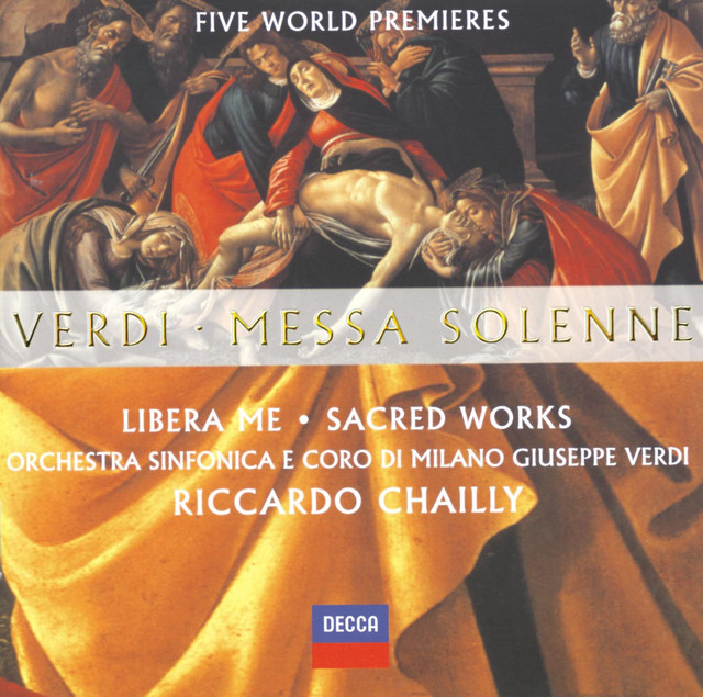Verdi: Messa Solenne; Libera Me; Sacred Works (Five World Premieres)