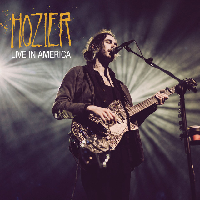 Hozier Live in America album cover