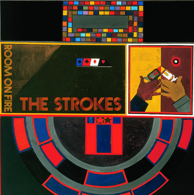Album cover for Room On Fire by The Strokes