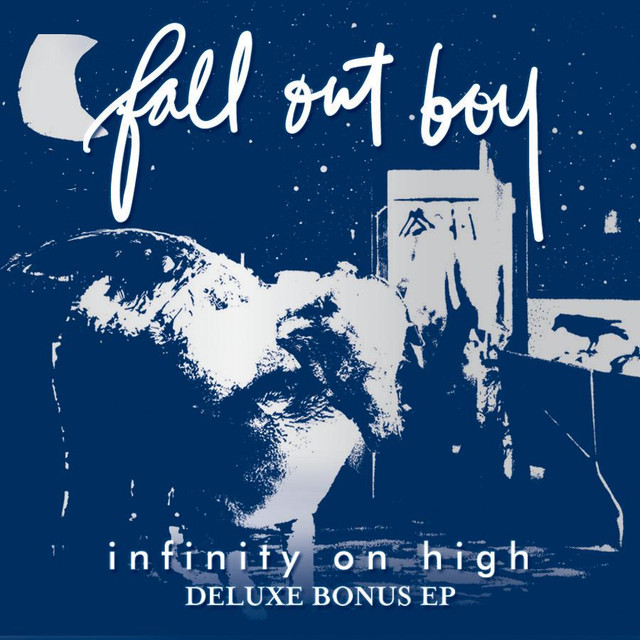 Fall out boy: infinity on high deluxe limited edition cd.