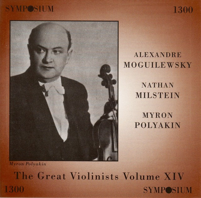 The Great Violinists, Vol. 14 Albumcover