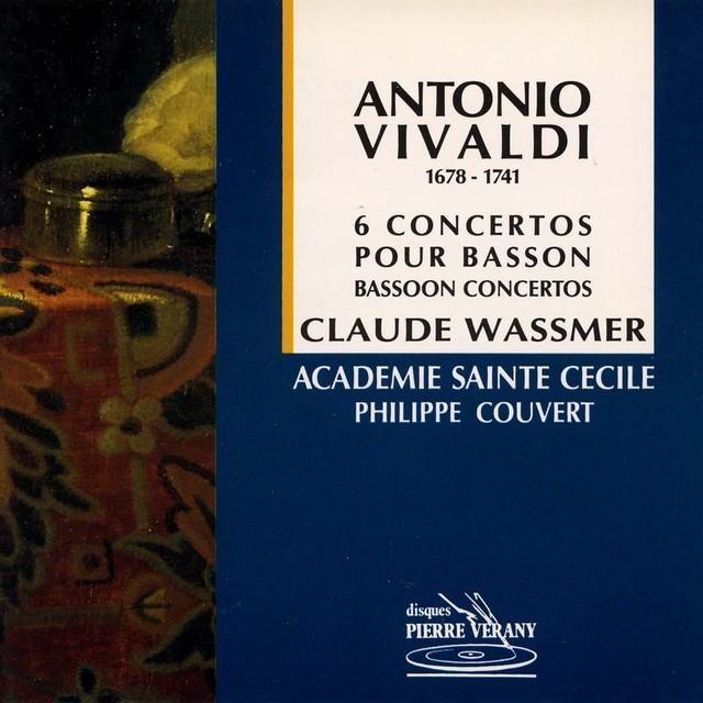 Vivaldi : 6 concertos pour basson Albumcover
