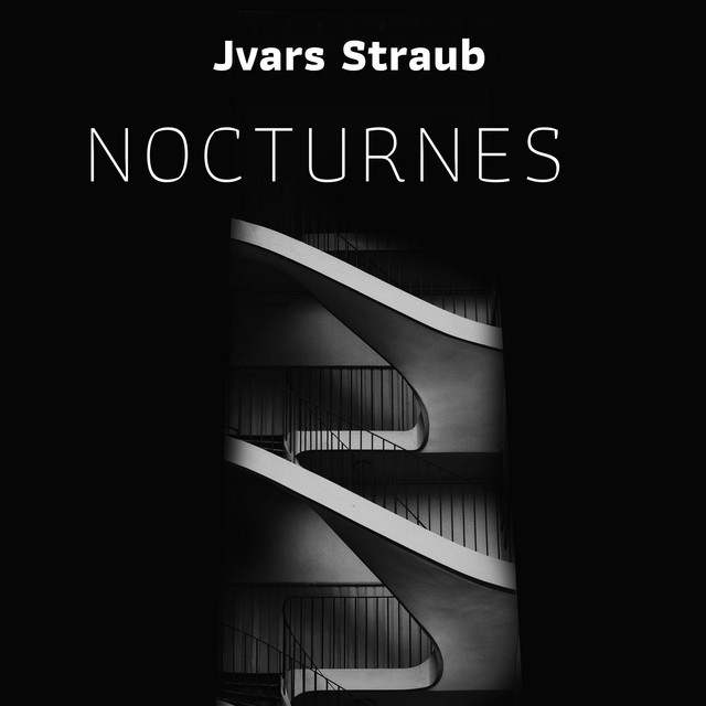 Album cover for Nocturnes by Frédéric Chopin, Jvars Straub