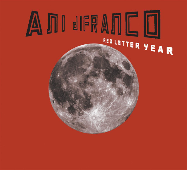 Ani DiFranco Red Letter Year album cover
