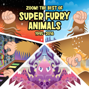 Super Furry Animals The Man Don't Give a Fuck cover