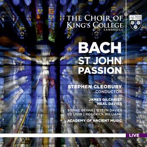 Bach: St John Passion (Live) album