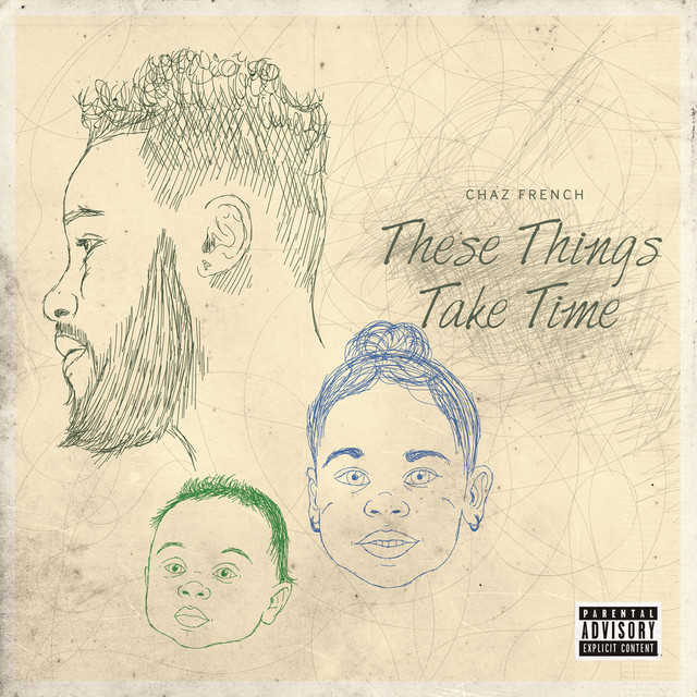 Album cover for These Things Take Time by Chaz French