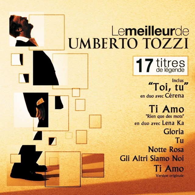 The best of Umberto Tozzi (for France) Albumcover