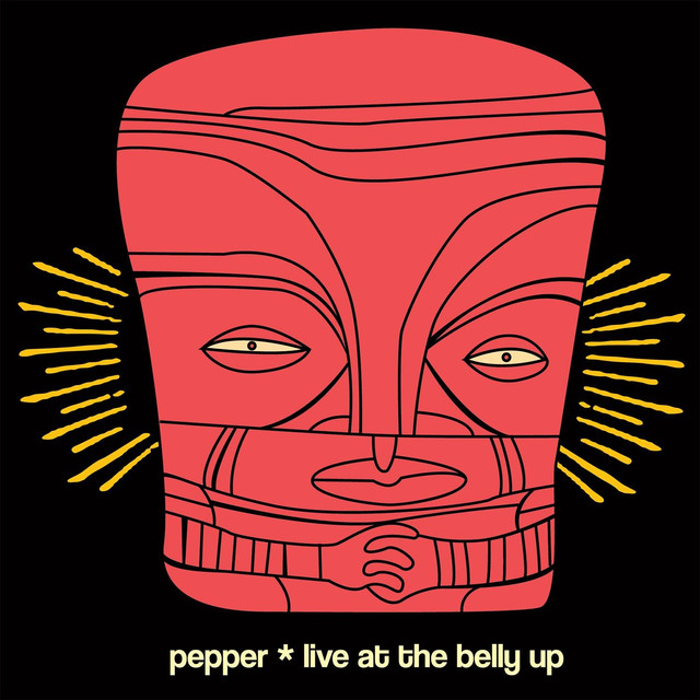 Pepper Live at the Belly Up album cover