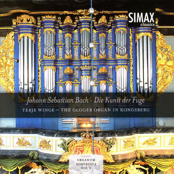 Johann Sebastian Bach - Die Kunst Der Fuge Albumcover