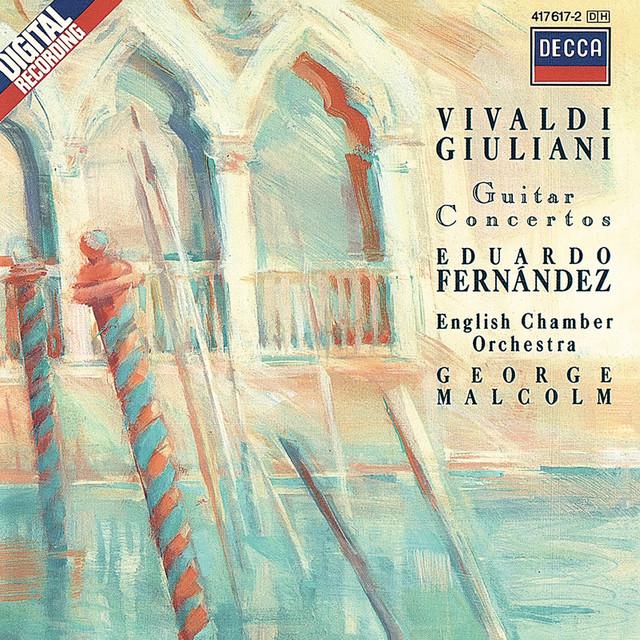 Giuliani & Vivaldi: Guitar Concertos Albumcover