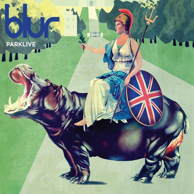 Skivomslag för Blur: Parklive