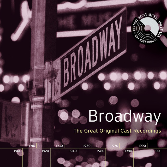 Original Broadway Cast Recording Broadway: The Great Original Cast Recordings album cover