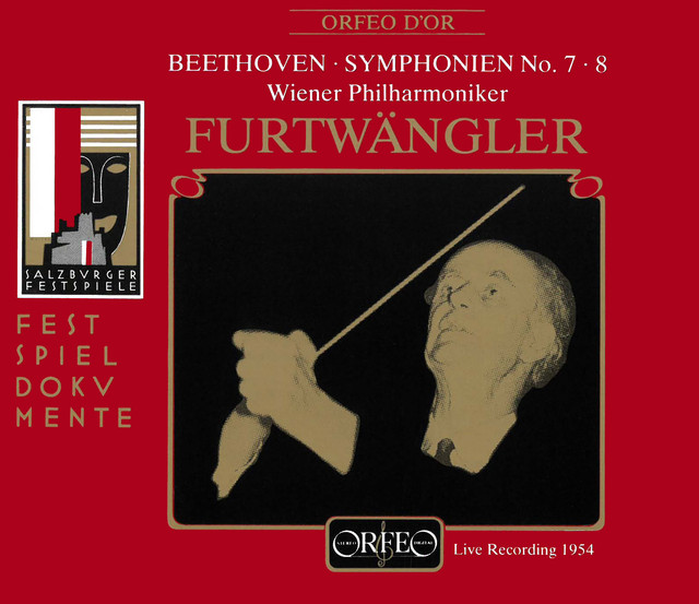 Beethoven: Symphonies Nos. 7 & 8 (Live)