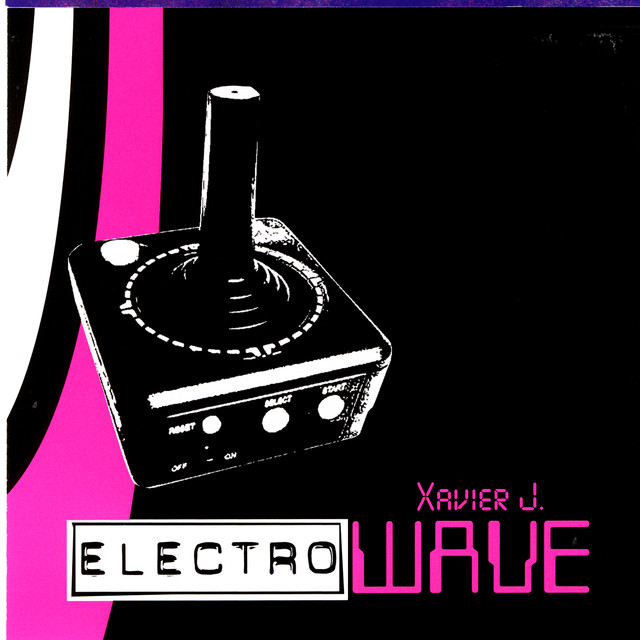 Various Artists Xavier J Presents Electro Wave album cover