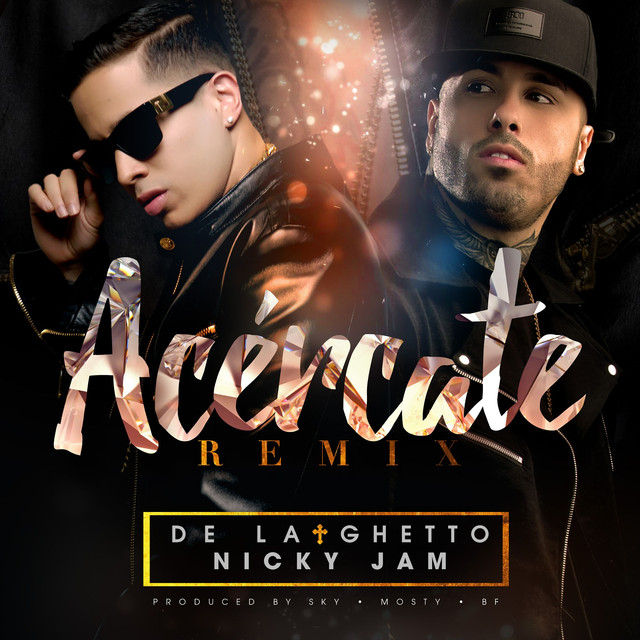 Acércate (feat. Nicky Jam) [Remix]
