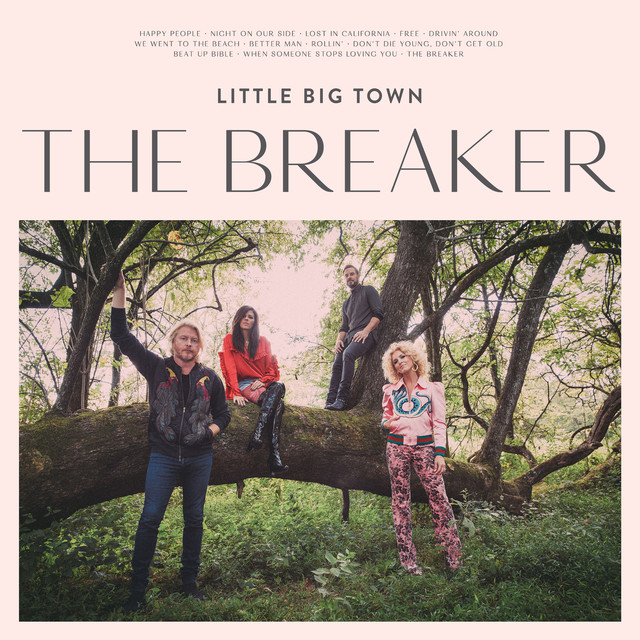 Album cover for The Breaker by Little Big Town
