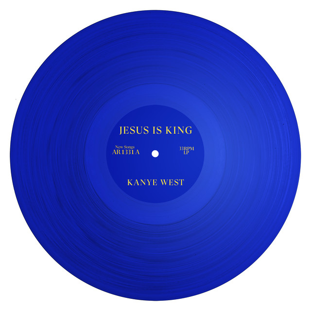 Album cover for JESUS IS KING by Kanye West