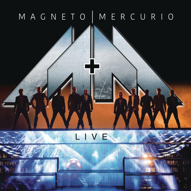 Album cover for Live by Magneto & Mercurio