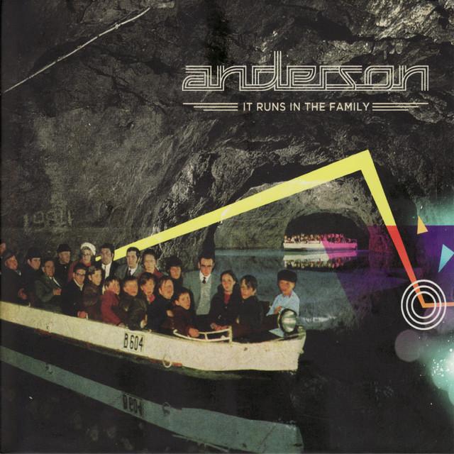 Anderson It Runs in the Family album cover