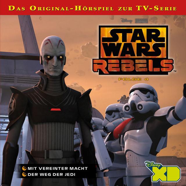 Star Wars Rebels - Folge 4 (Mit vereinter Macht & Der Weg der Jedi) Cover