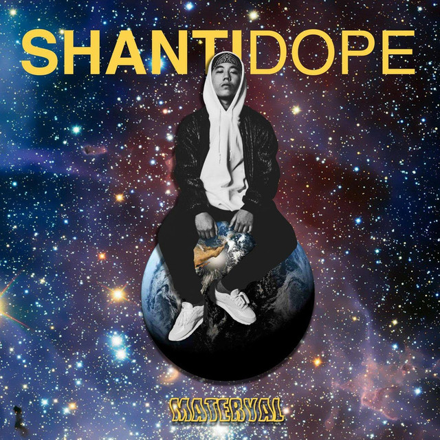 Album cover for Materyal by Shanti Dope