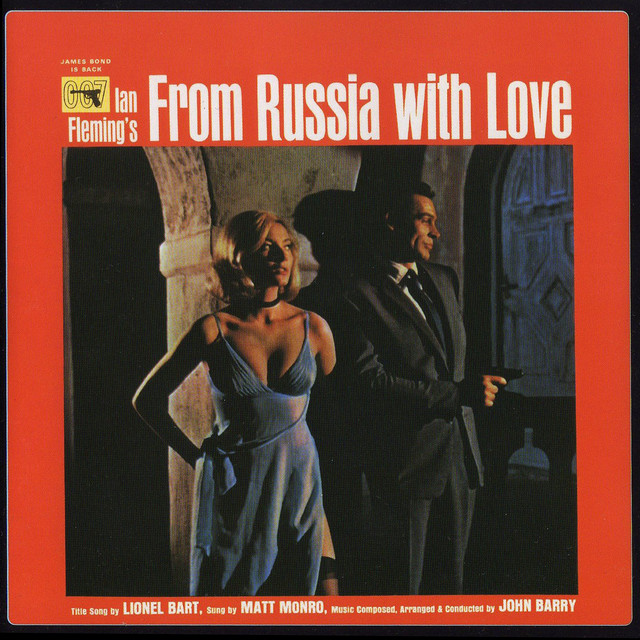 James Bond Soundtrack: From Russia With Love Albumcover