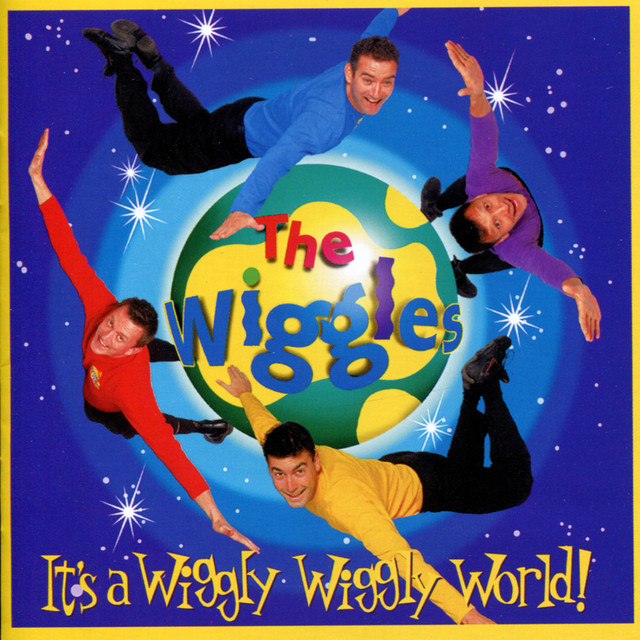 The Wiggles It's a Wiggly Wiggly World! album cover