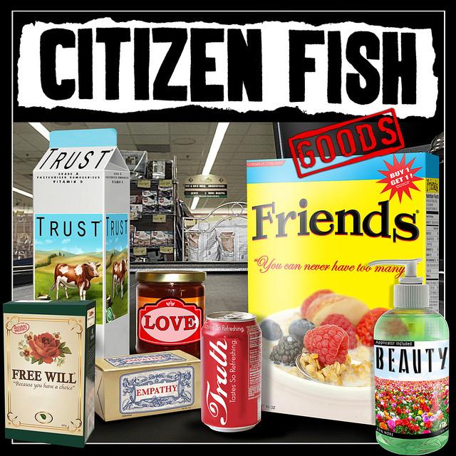 Citizen Fish * Leftöver Crack - Baby Punchers / Meltdown Split 7