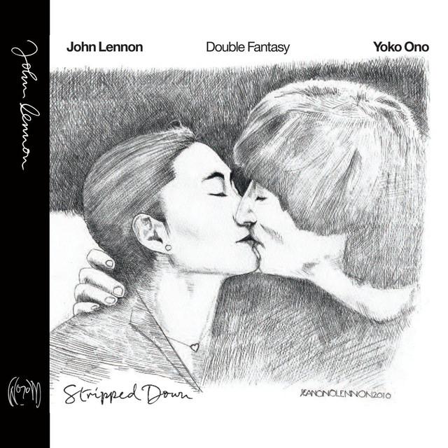 Skivomslag för John Lennon: Double Fantasy Stripped Down