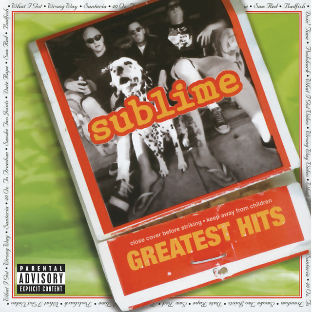 Sublime Greatest Hits album cover