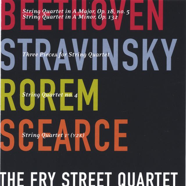 stravinsky three pieces for string quartet