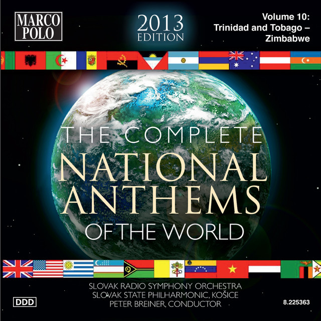 The Complete National Anthems of the World (2013 Edition), Vol. 10