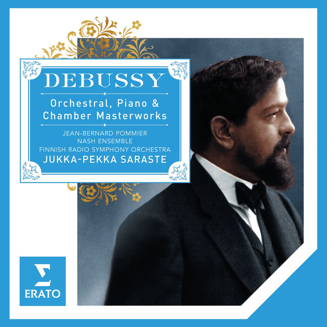 Debussy Piano Chamber & Orchestral Works Albumcover