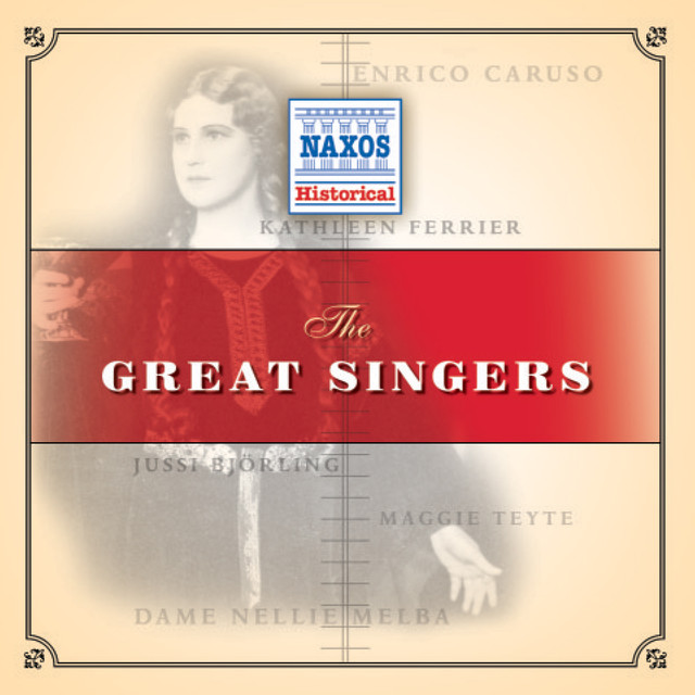 Great Singers (1904-1952) Albumcover