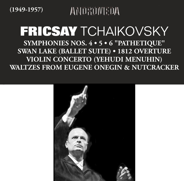 Fricsay Conducts Tchaikovsky Albumcover