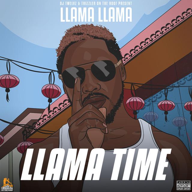 KxNG LLAMA Llama Time album cover