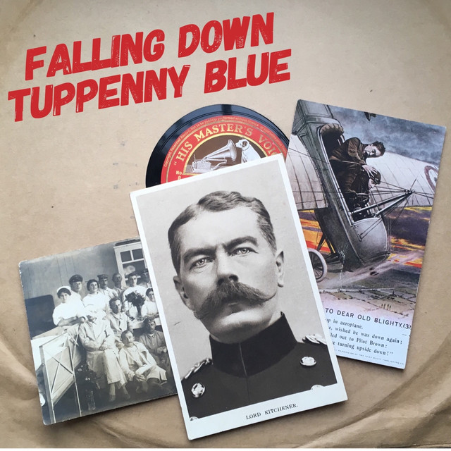 Tuppenny Blue