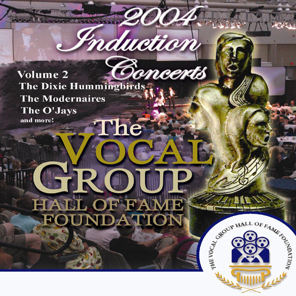 Various Artists Vocal Group Hall of Fame 2004 Live Induction Concerts Vol 2 album cover